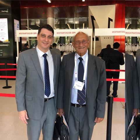 Profº Henry Bismuth (FRA) - Congresso Mundial da Suiça